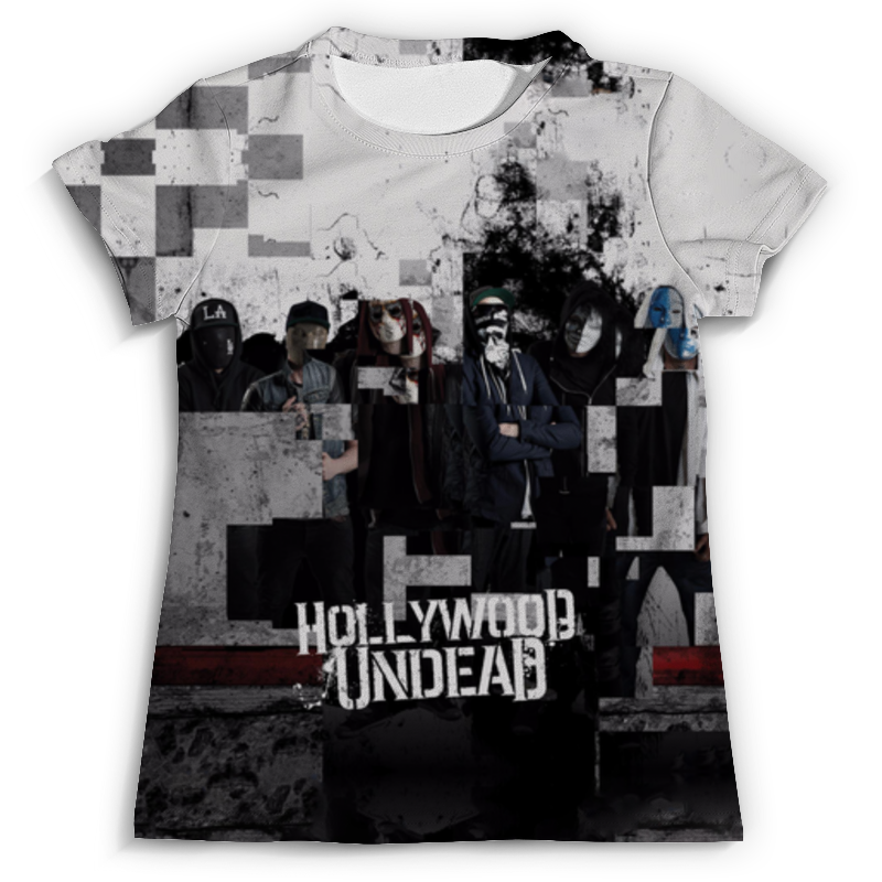 Футболка с полной запечаткой (мужская) Printio Hollywood undead футболка стрэйч printio hollywood undead