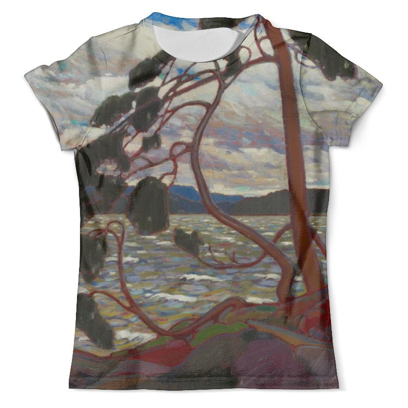 Футболка с полной запечаткой (мужская) Printio Западный ветер (том томсон) футболка для беременных printio торонто мэйпл лифс
