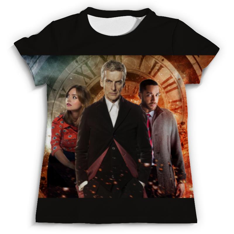Футболка с полной запечаткой (мужская) Printio Doctor who футболка рингер printio доктор кто doctor who