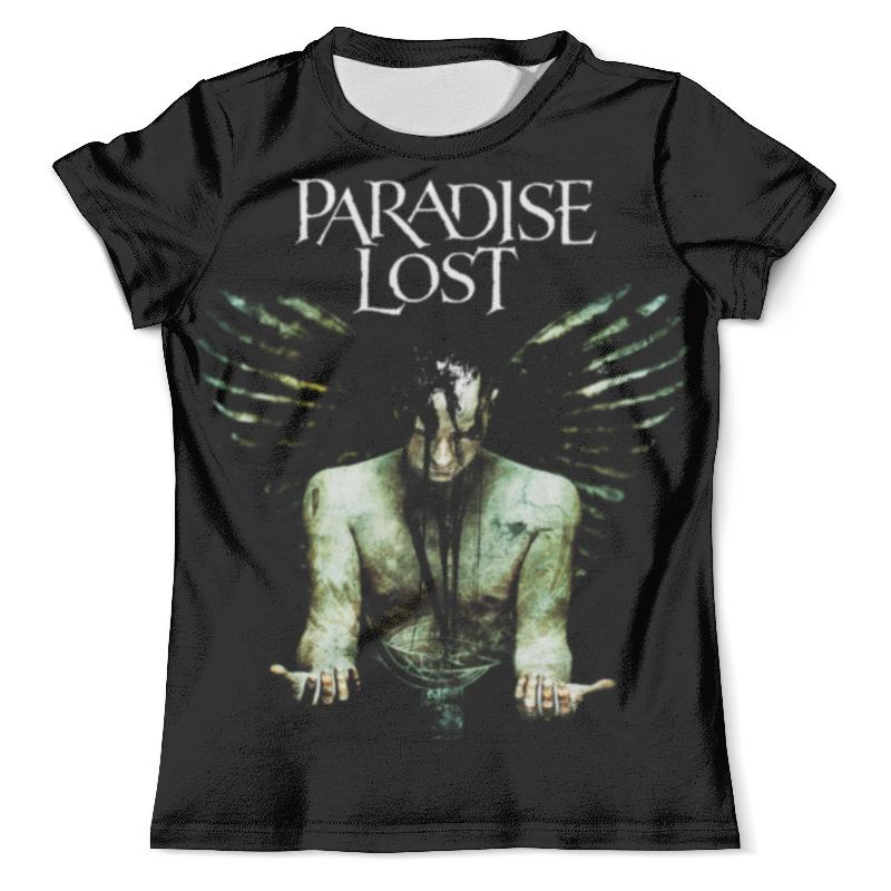 Футболка с полной запечаткой (мужская) Printio Paradise lost paradise lost paradise lost gothic