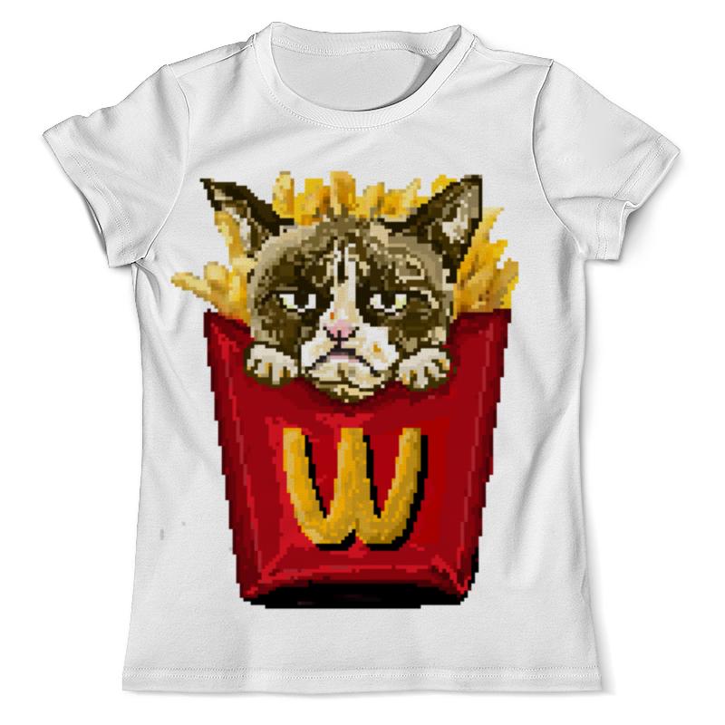 Футболка с полной запечаткой (мужская) Printio Grumpy cat футболка с полной запечаткой мужская printio grumpy cat