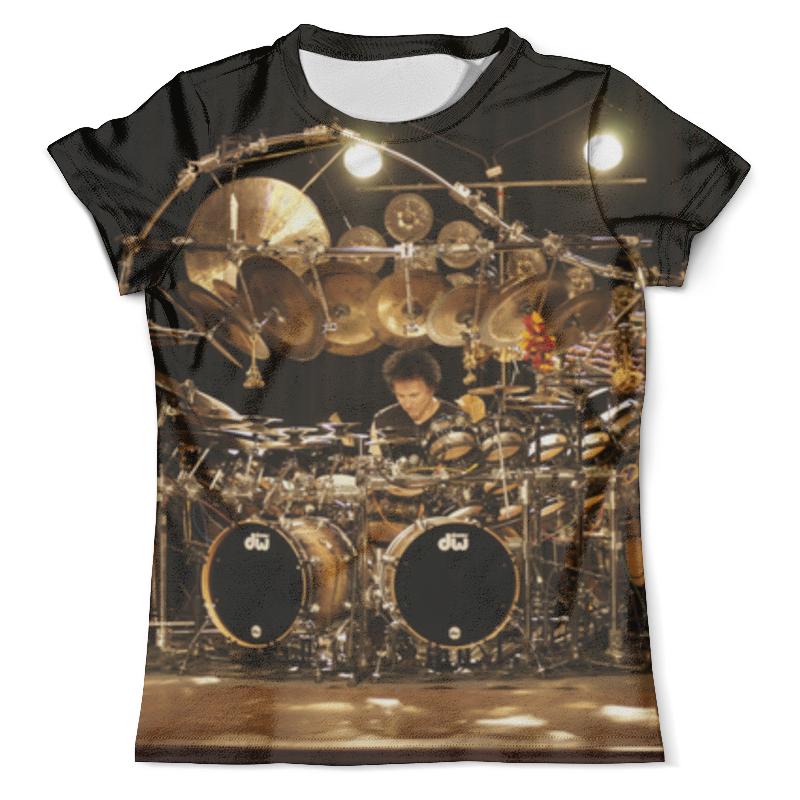 Футболка с полной запечаткой (мужская) Printio Drums bozzio кружка printio drums