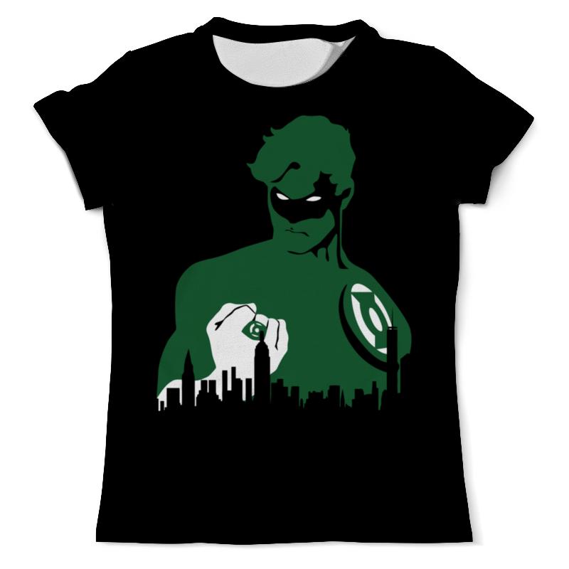 лучшая цена Printio Зелёный фонарь (green lantern)