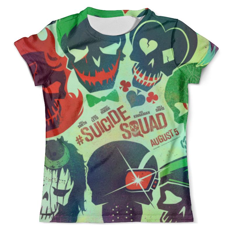 Футболка с полной запечаткой (мужская) Printio Отряд самоубийц футболка с полной запечаткой мужская printio отряд самоубийц