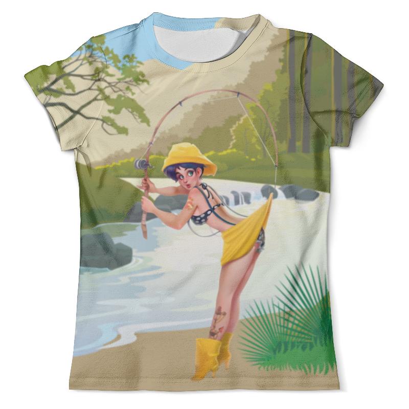 Футболка с полной запечаткой (мужская) Printio Рыбалка с любимой (fishing) футболка с полной запечаткой мужская printio battlefield v