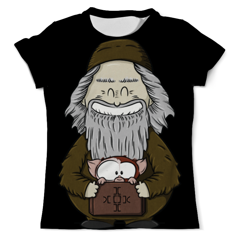 Printio Mr. wang and gizmo / мистер ванг и гизмо футболка с полной запечаткой мужская printio mr wang and gizmo мистер ванг и гизмо