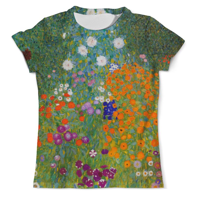 Printio Цветочный сад (густав климт) футболка с полной запечаткой мужская printio большой тополь ii густав климт