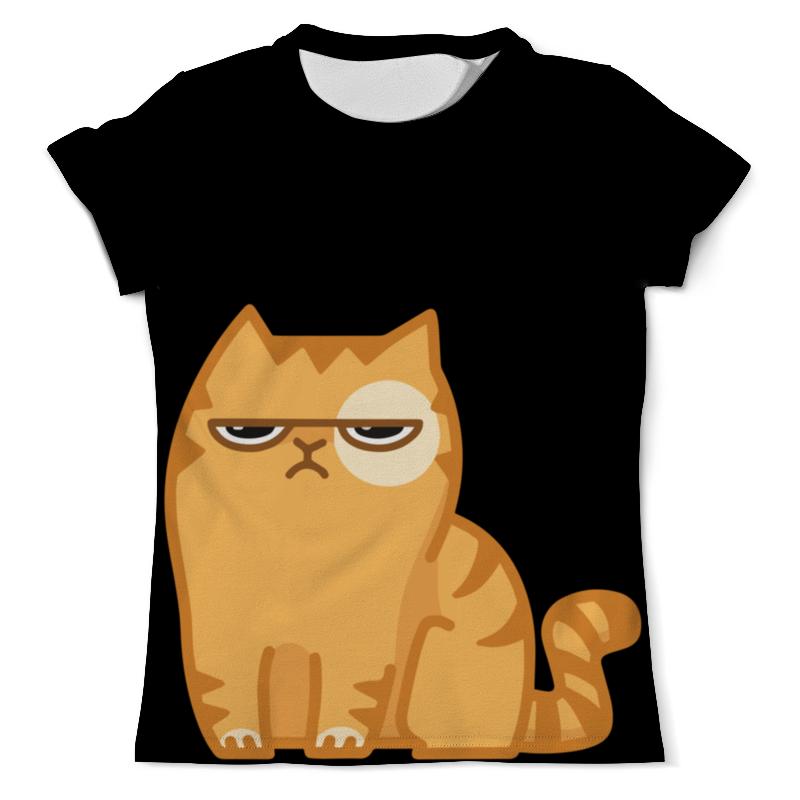 Футболка с полной запечаткой (мужская) Printio Кот персик / cat persik футболка с полной запечаткой мужская printio grumpy cat