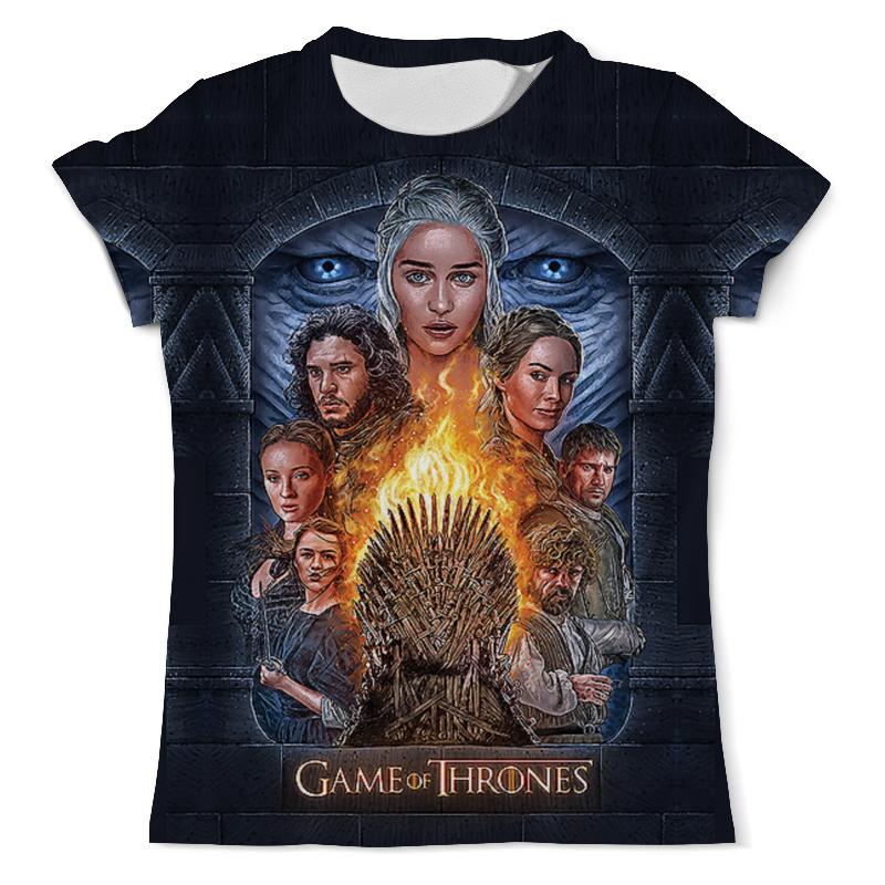 Футболка с полной запечаткой (мужская) Printio Game of thrones футболка с полной запечаткой мужская printio white walker game of thrones