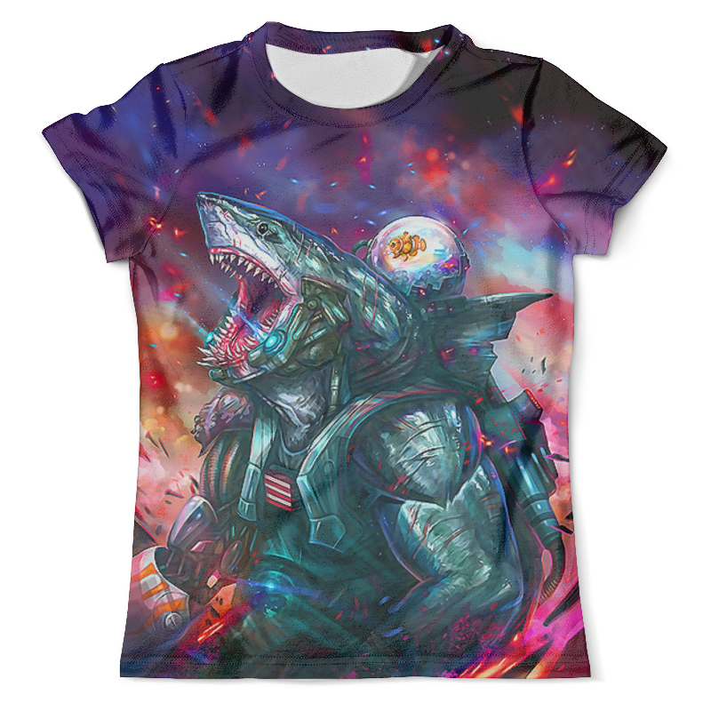 Футболка с полной запечаткой (мужская) Printio King shark футболка с полной запечаткой женская printio gipsy king