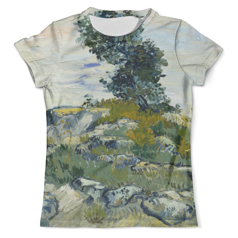 Футболка с полной запечаткой (мужская) Printio Валуны и дуб (винсент ван гог) футболка с полной запечаткой мужская printio картина