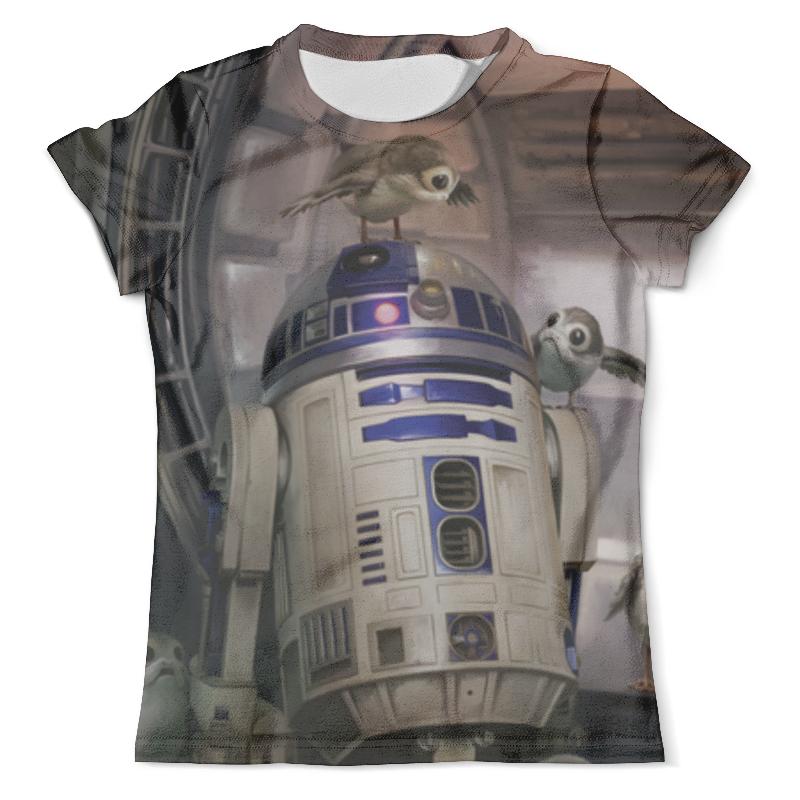 Футболка с полной запечаткой (мужская) Printio Звездные войны - r2-d2 футболка с полной запечаткой для девочек printio звездные войны r2 d2