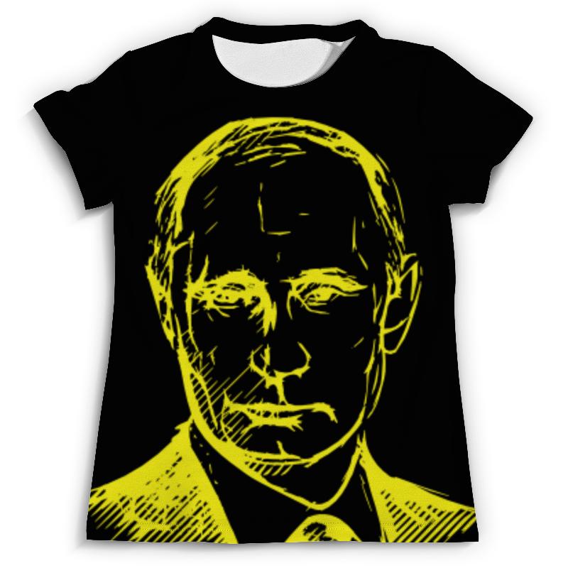 Футболка с полной запечаткой (мужская) Printio Путин флаг пограничных войск россии великий новгород