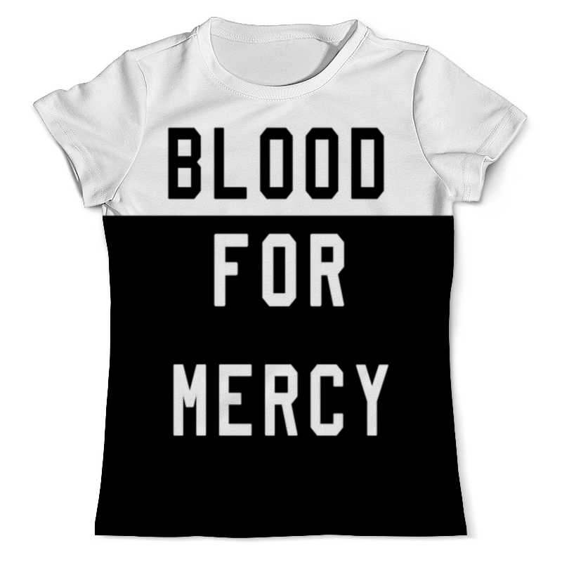 Printio Yellow claw blood for mercy цена и фото