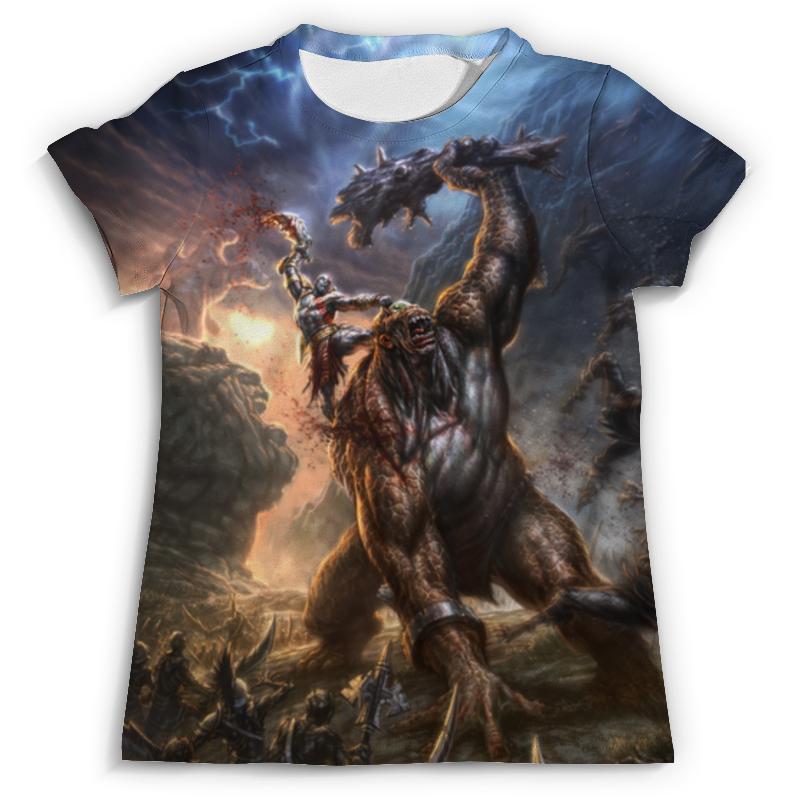 Футболка с полной запечаткой (мужская) Printio God of war футболка для беременных printio god of war