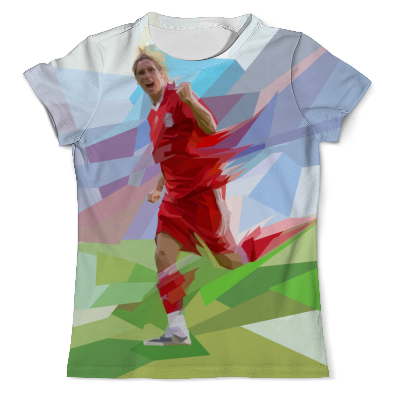 Футболка с полной запечаткой (мужская) Printio Футбольная мозайка фернандо торрес цена