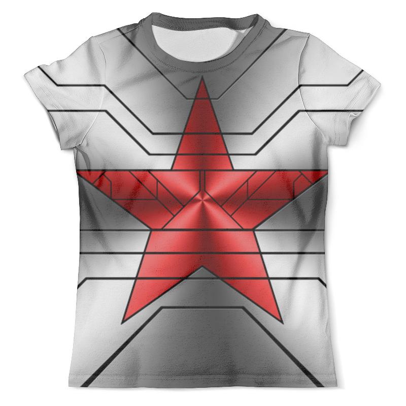 Футболка с полной запечаткой (мужская) Printio Звезда красная футболка 501 красная