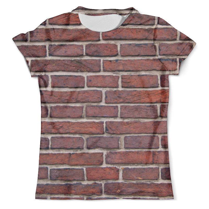Футболка с полной запечаткой (мужская) Printio Кирпичная кладка футболка с полной запечаткой для девочек printio кирпичная кладка