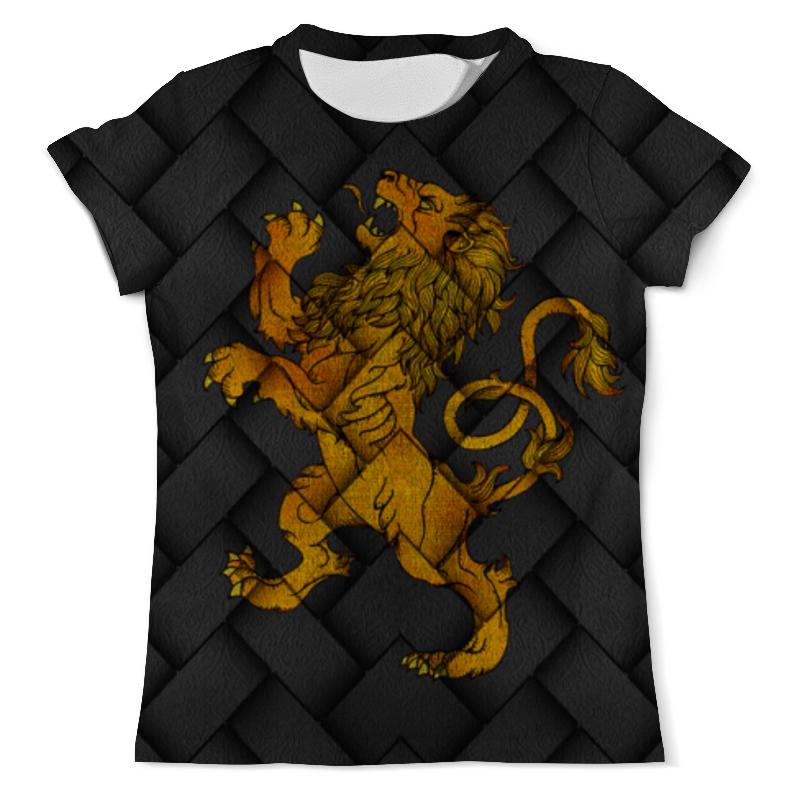Футболка с полной запечаткой (мужская) Printio Игра престолов!!! футболка wearcraft premium printio игра престолов