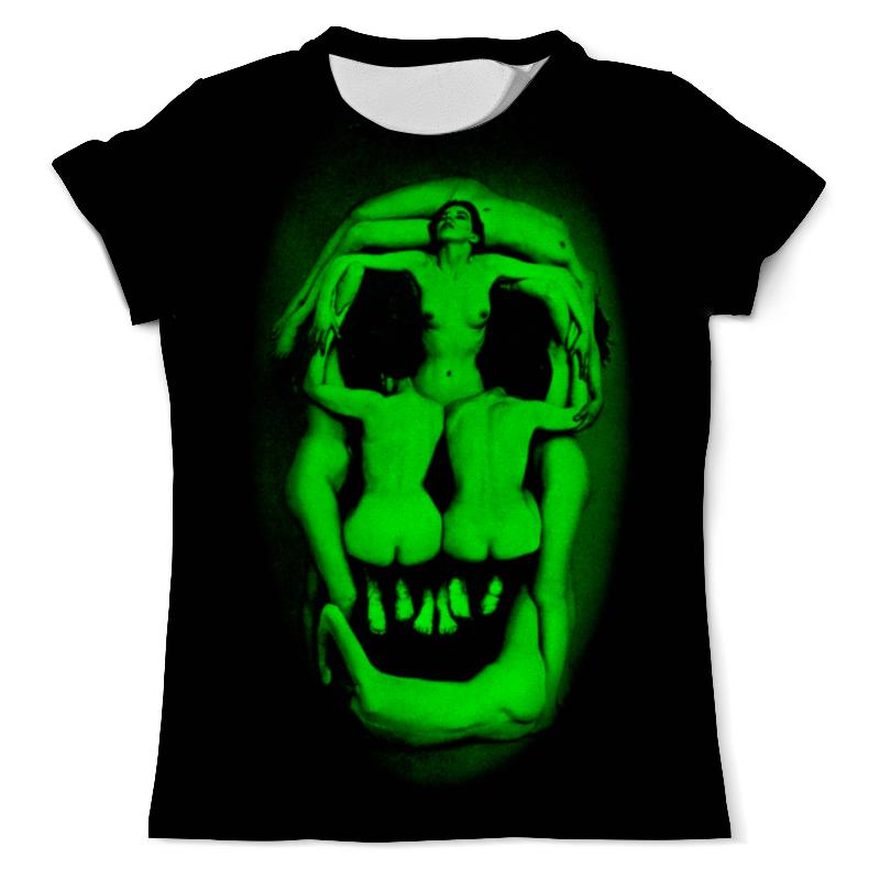 Футболка с полной запечаткой (мужская) Printio Иллюзия черепа от сальвадора дали футболка с полной запечаткой мужская printio иллюзия