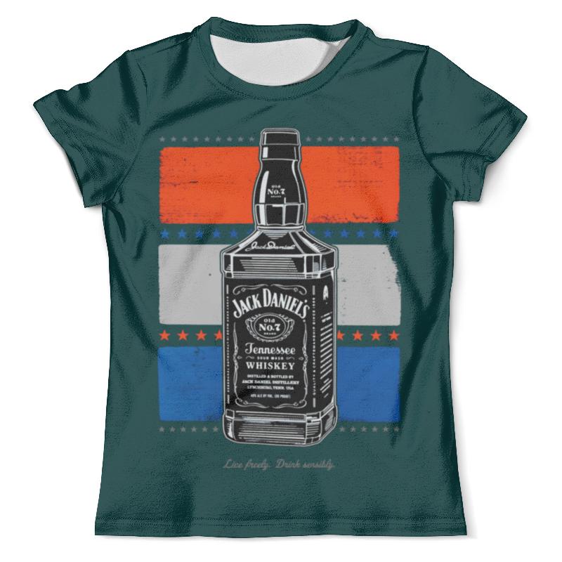 Футболка с полной запечаткой (мужская) Printio Jack daniels футболка jack daniels мужская