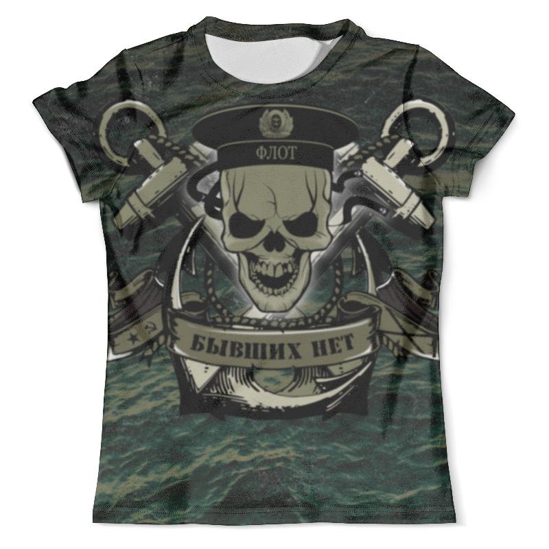 Футболка с полной запечаткой (мужская) Printio Флот!!! футболка с полной запечаткой для девочек printio армия территория характеров