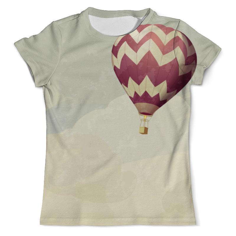 Футболка с полной запечаткой (мужская) Printio Воздушные шары свитшот мужской с полной запечаткой printio воздушные шары