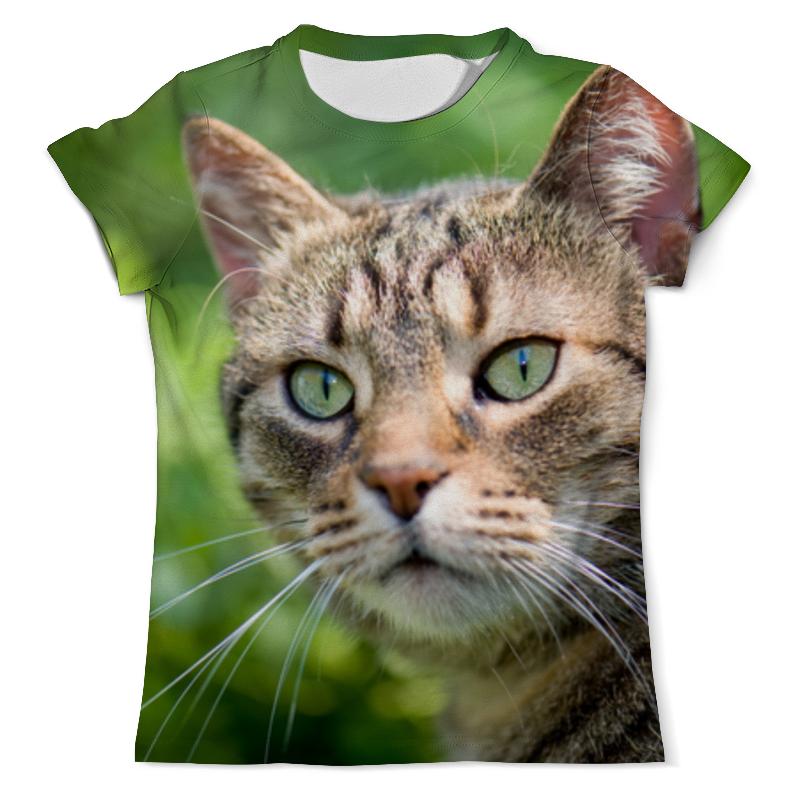 Printio Целеустремленная кошка футболка с полной запечаткой мужская printio взгляд черной кошки