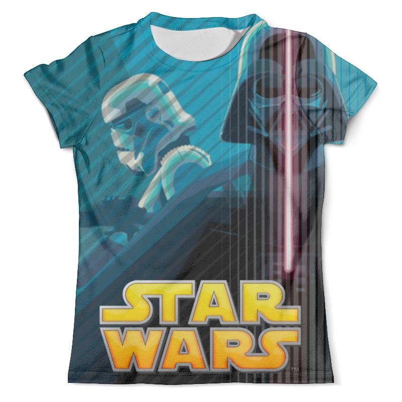 Футболка с полной запечаткой (мужская) Printio Star wars design (new) футболка с полной запечаткой мужская printio clone troopers construction star wars