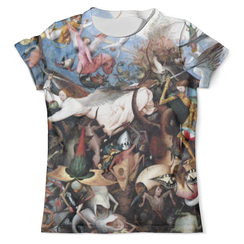 Футболка с полной запечаткой (мужская) Printio Падение мятежных ангелов (питер брейгель) футболка с полной запечаткой мужская printio важнейшее из искусств винтаж