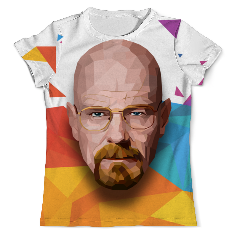 Фото - Printio Heisenberg low-poly футболка с полной запечаткой мужская printio heisenberg low poly