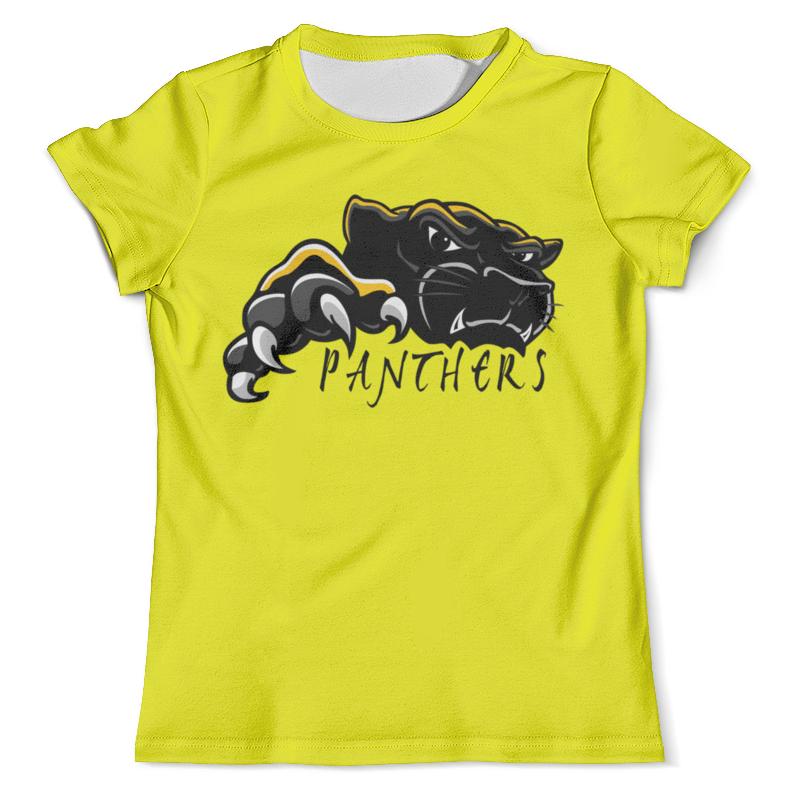 Футболка с полной запечаткой (мужская) Printio Черная пантера футболка черная мужская без рисунка