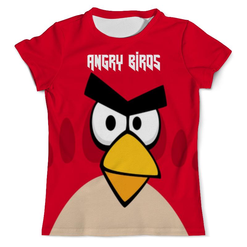 Футболка с полной запечаткой (мужская) Printio Angry birds (terence) футболка с полной запечаткой для девочек printio angry birds terence