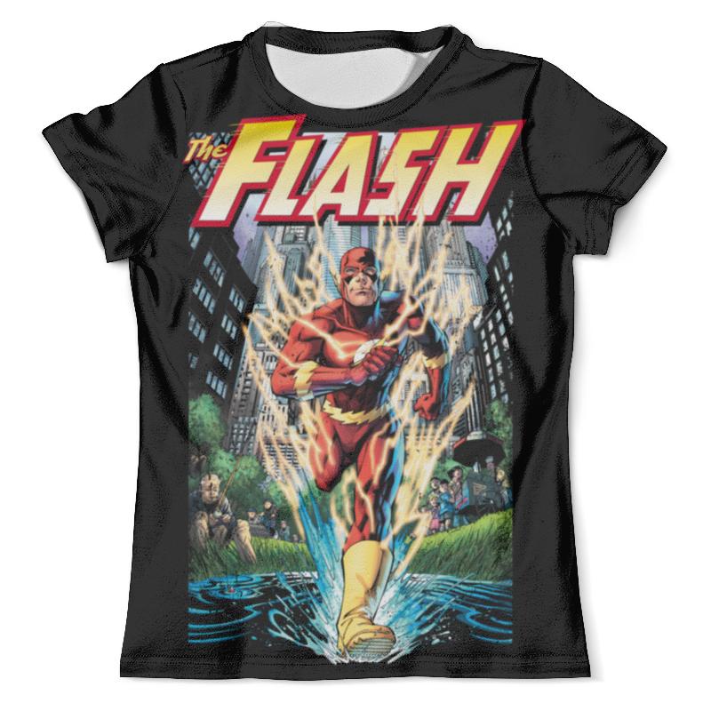 Футболка с полной запечаткой (мужская) Printio Флэш (flash) футболка с полной запечаткой мужская printio flash v grodd