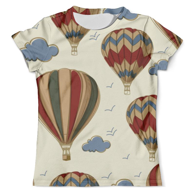 Футболка с полной запечаткой (мужская) Printio Воздушные шары футболка с полной запечаткой женская printio разноцветные воздушные шары