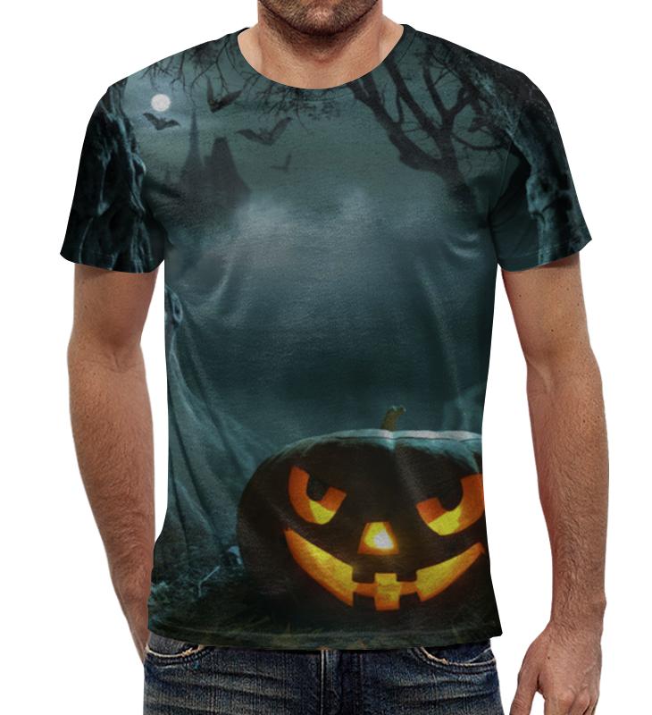Футболка с полной запечаткой Printio Хеллоуин / halloween костюм на хеллоуин из китая