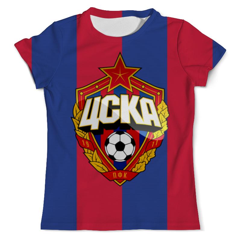 Футболка с полной запечаткой (мужская) Printio Цска - фан футболка с полной запечаткой printio фан клуб вовочки