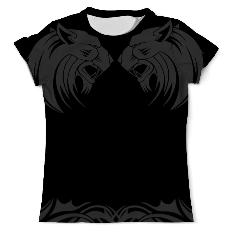 Printio Львы!!! футболка с полной запечаткой мужская printio львы