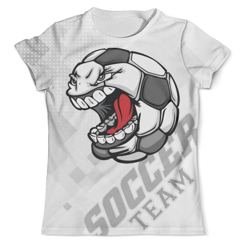 Футболка с полной запечаткой (мужская) Printio Soccer design цена 2017