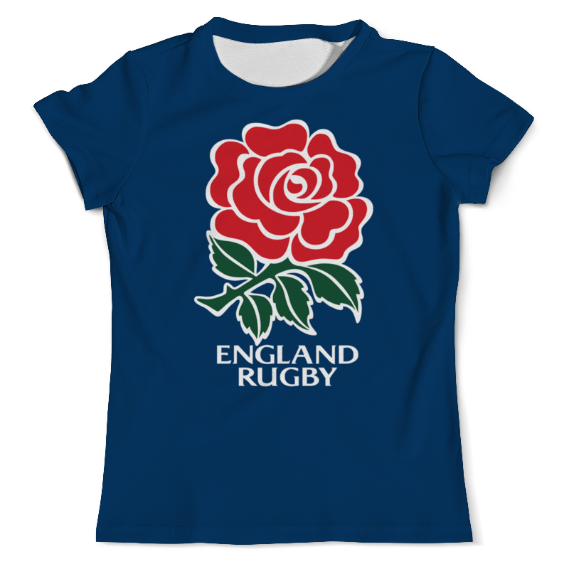 Футболка с полной запечаткой (мужская) Printio Англия регби футболка с полной запечаткой мужская printio распускающаяся роза