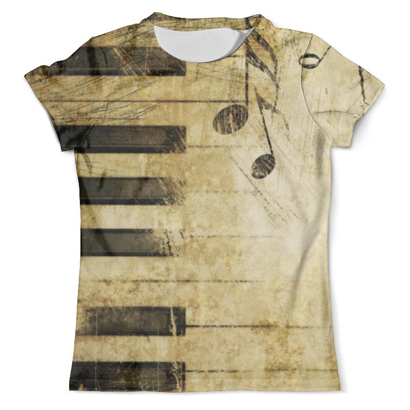 Футболка с полной запечаткой (мужская) Printio Клавиши футболка с полной запечаткой мужская printio сара керриган старкрафт