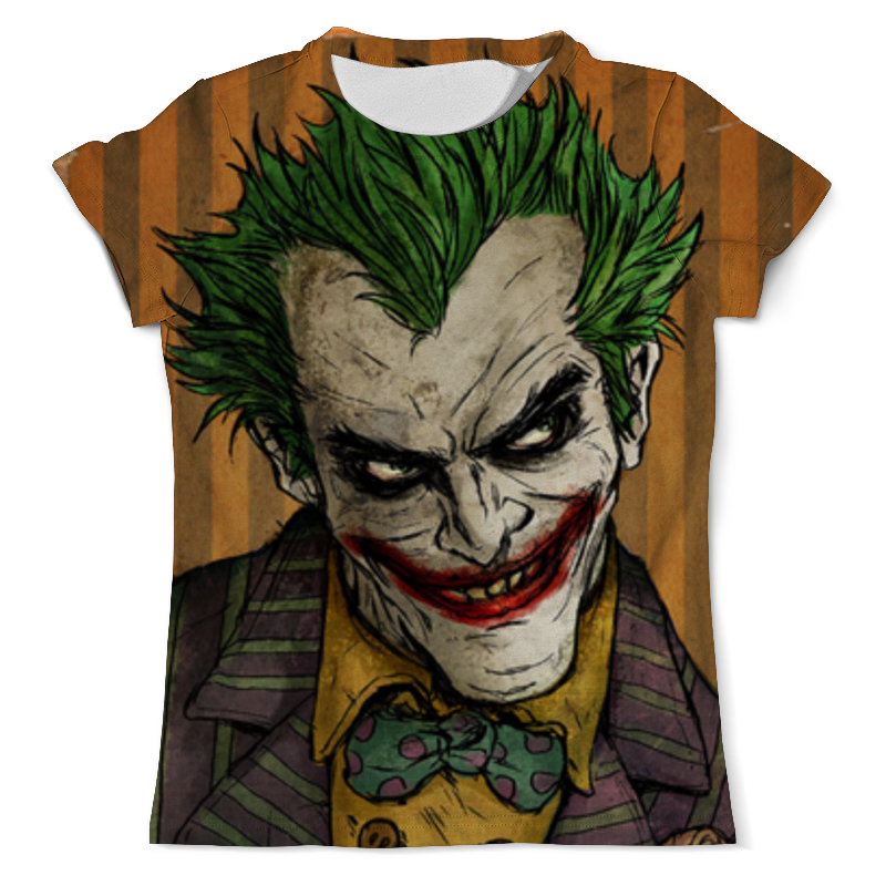 Футболка с полной запечаткой Printio Джокер / joker детский костюм озорного клоуна 34