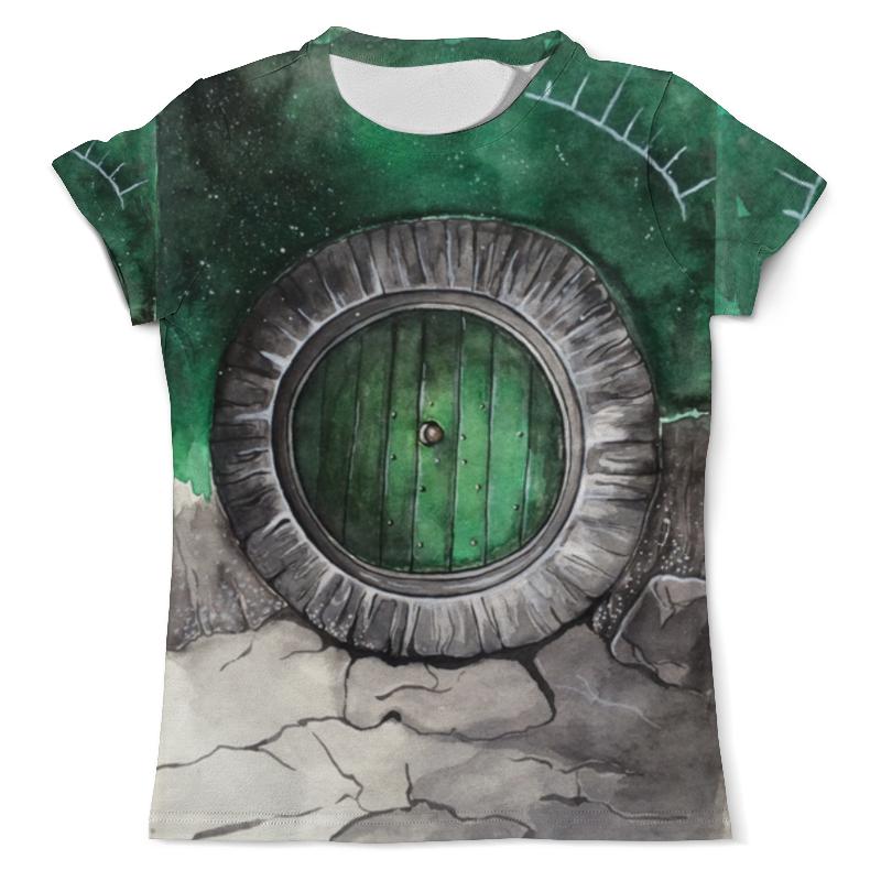 Футболка с полной запечаткой (мужская) Printio Волшебная дверь от milanna футболка с полной запечаткой женская printio девушка море от milanna