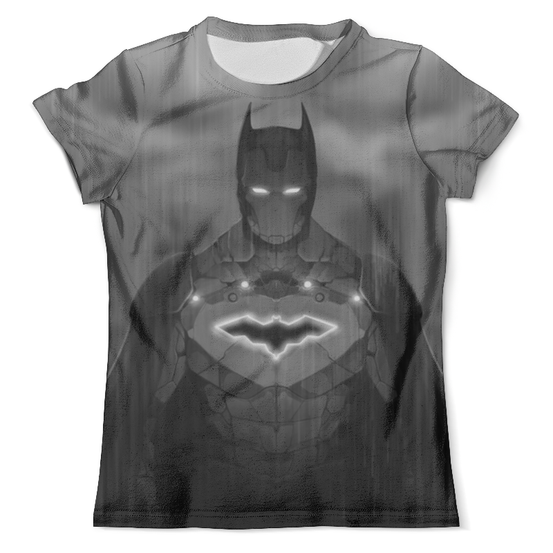 Футболка с полной запечаткой (мужская) Printio I am iron batman! men s slimming collarless bus printing short sleeves