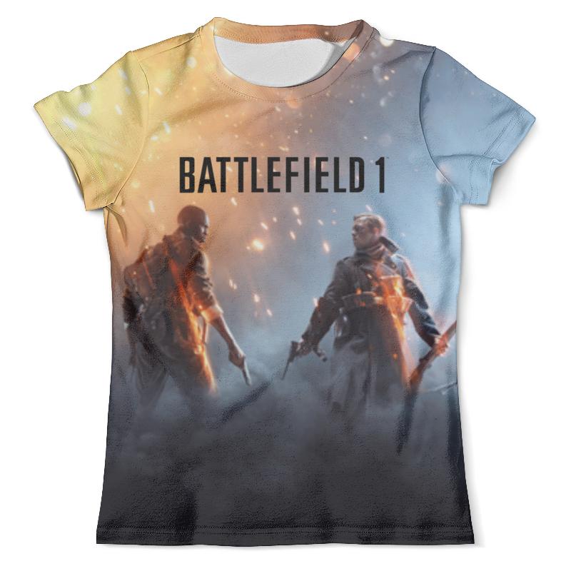 Футболка с полной запечаткой (мужская) Printio Battlefield 1 футболка с полной запечаткой мужская printio солдат battlefield