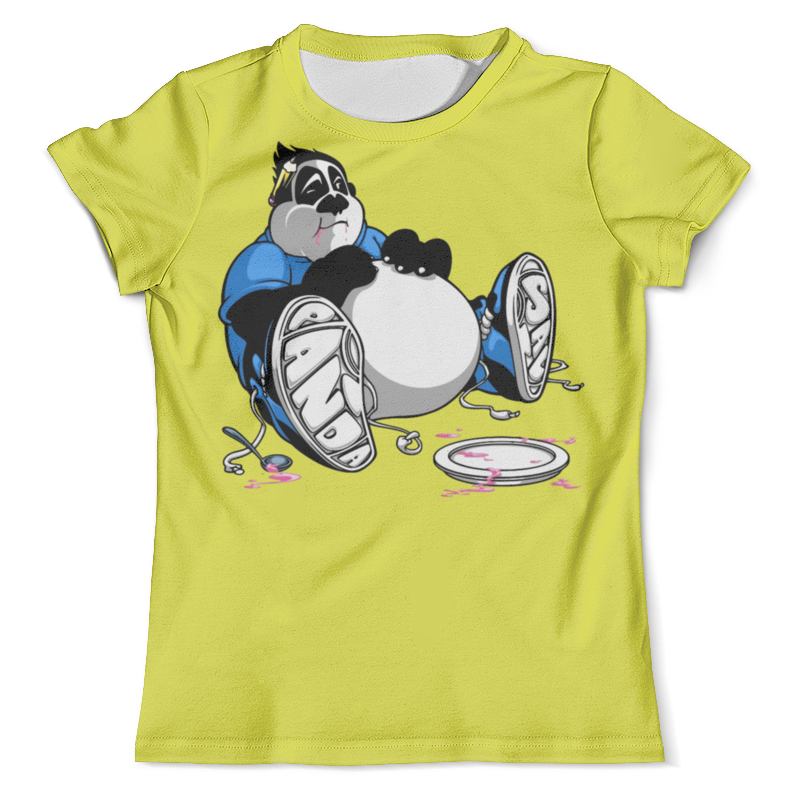 Футболка с полной запечаткой (мужская) Printio Смешная панда футболка с полной запечаткой мужская printio панда