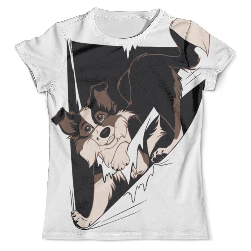 Футболка с полной запечаткой (мужская) Printio Собака ( dog ) футболка с полной запечаткой мужская printio sly old dog
