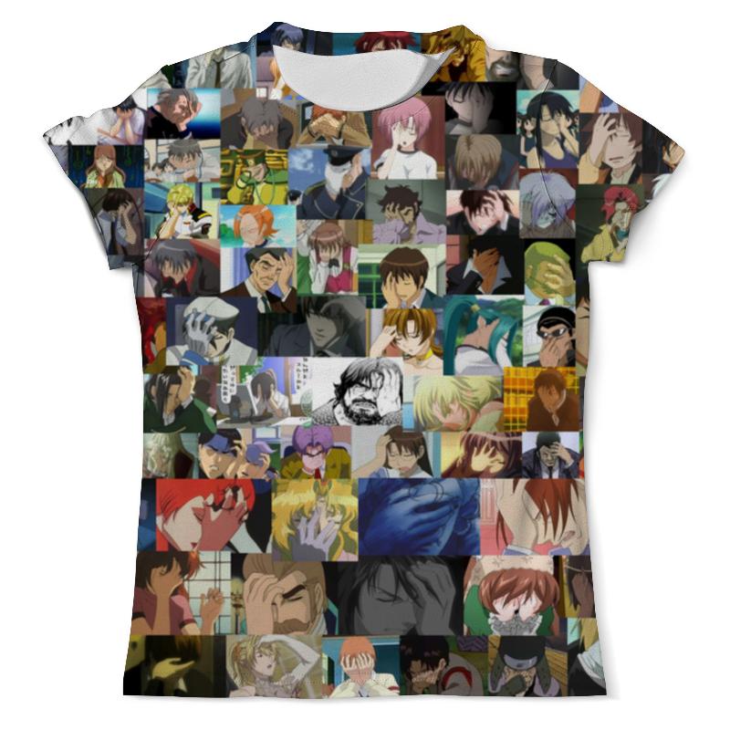 лучшая цена Printio Anime - facepalm