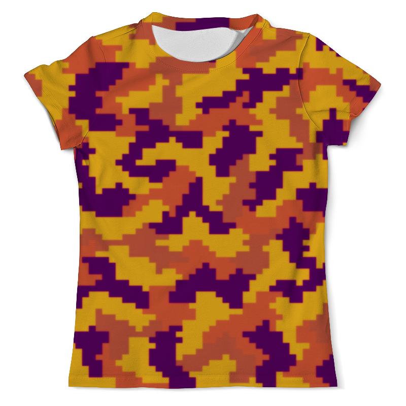 Футболка с полной запечаткой (мужская) Printio Яркий камуфляж футболка с полной запечаткой мужская printio яркий камуфляж