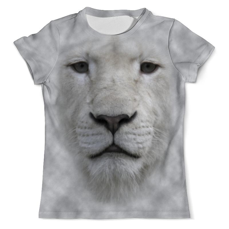 Футболка с полной запечаткой (мужская) Printio Белый тигр футболка с полной запечаткой мужская printio тигр 3d